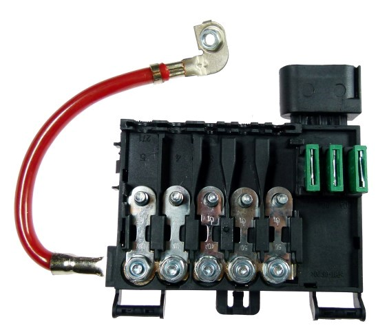 Seat Leon Battery Fuse Box : Audi skoda vw seat battery fuse box holder ah